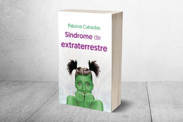 Libro Síndrome de extraterrestre - Diseño editorial y maquetación